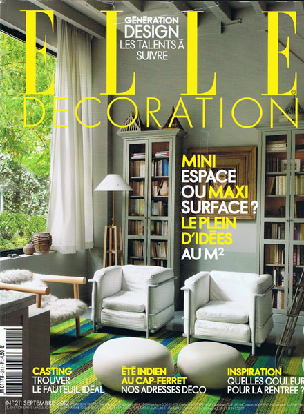 Tate anson design for Elle decoration france