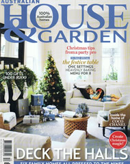 House and Garden December 2012 Cover