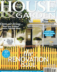 House and Garden October 2012 Cover